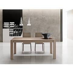 Point House Milano 140 Extendible table l. 140 x 90 / wooden floor
