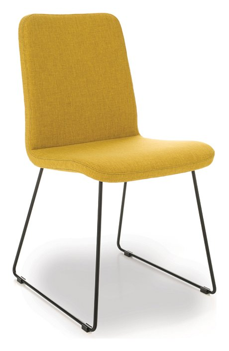 Photos 1: Point House CLOE 3 Chair in metal and fabric