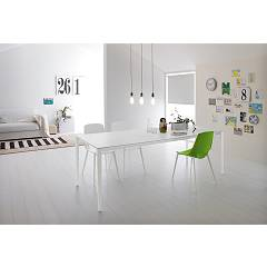 Point House Fusion 140 Extendible table l. 140 x 90