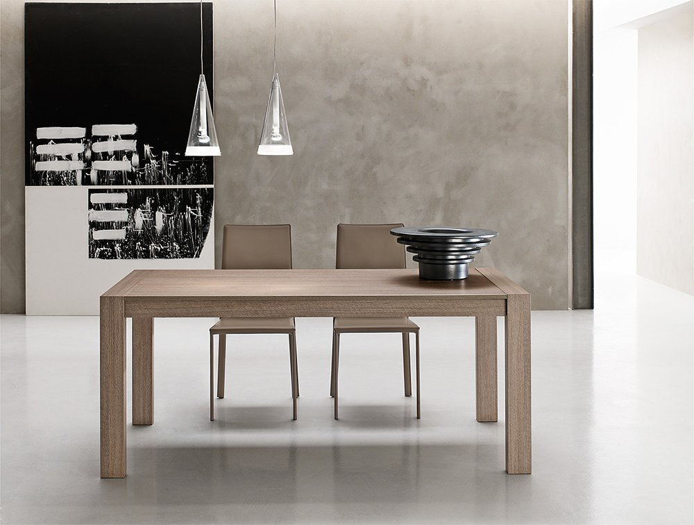 Extensible Table 90 BoisVieffetrade En Milano LX Point 08mil160 House 160 Plancher mn0vNw8