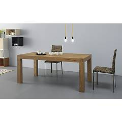 Point House Tola Long 180 Extendible table l. 180 x 90