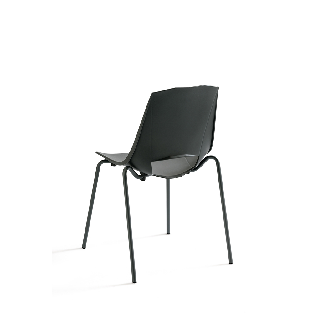 Photos 2: Point House Chair in metal and polypropylene EVA 2