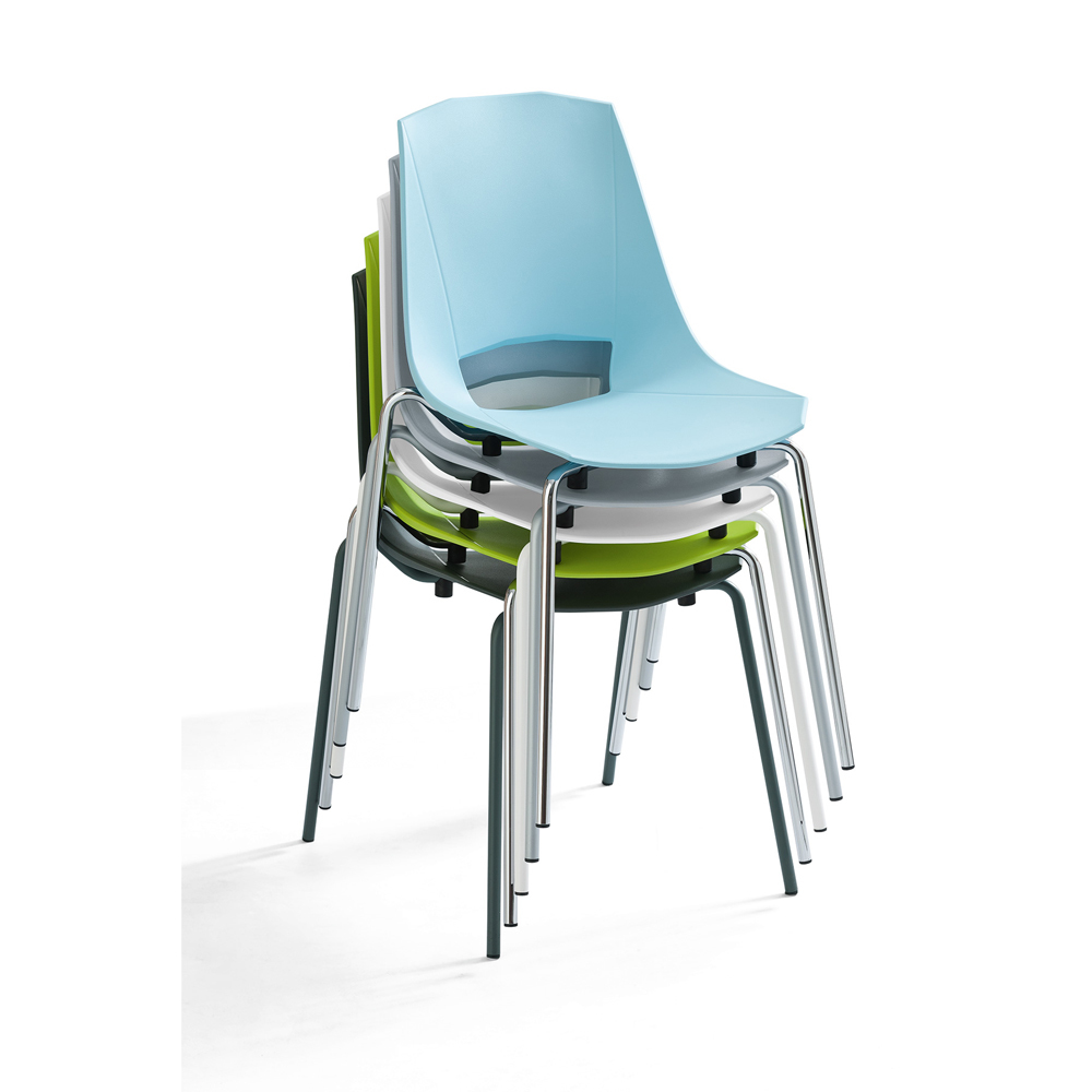 Photos 3: Point House Chair in metal and polypropylene EVA 2