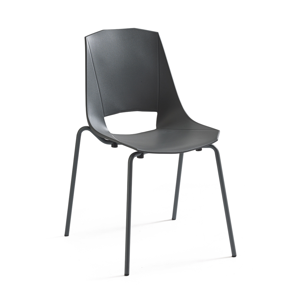 Photos 1: Point House Chair in metal and polypropylene EVA 2