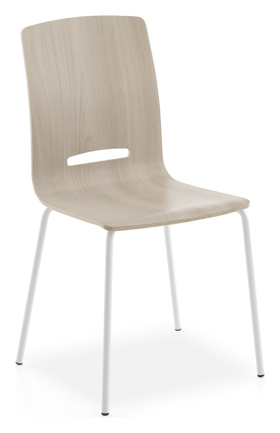 Photos 1: Point House FLORA Chair in metal and wood