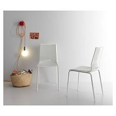 Point House Elena 2 Chair in metal and polypropylene