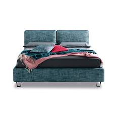 Samoa Form (compatto) Single padded bed | square and a half | double bed - optional bed base - optional container - adjustable headboard Your Style Modern