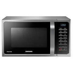 Samsung Mc28h5015cs Microwave oven combined with grill capacity 28 liters 900 watt color black / silver