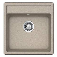 Schock Nemn100s58 Recessed sink 490 x 510 - oat 1 bath - granite Nemo