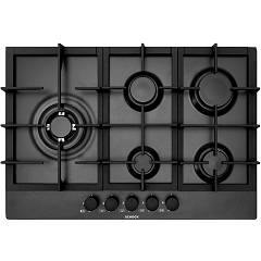 Schock Professional 75 Laterale Gas hob cm. 75 - matt black