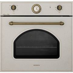 Schock Sfn5458n Electric oven cm. 60 multifunction - oats bronzed knobs New England F605