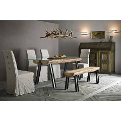Sedit Aspen Fixed table l. 180 x 100