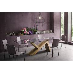 Sedit Tabià Big Extendible table l. 180 x 100