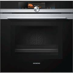 Siemens Hm678g4s1 - Iq700 Oven combined microwave cm. 60 - stainless steel + black glass pyrolytic Iq700