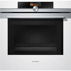 Siemens Hm636gnw1 Microwave combined oven cm. 60 - inox + white glass Iq700
