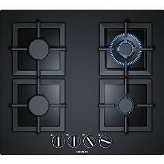 Siemens Ep6a6hb20 Gas cooking top cm. 60 - black tempered glass Iq500