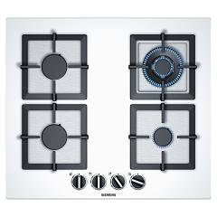 Siemens Ep6a2hb20 Gas cooking top cm. 60 - white tempered glass Iq500