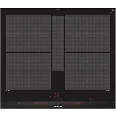 Siemens Ex675lyv1e Induction cooktop cm.60 - vetroceramica black side profiles in stainless steel Iq700