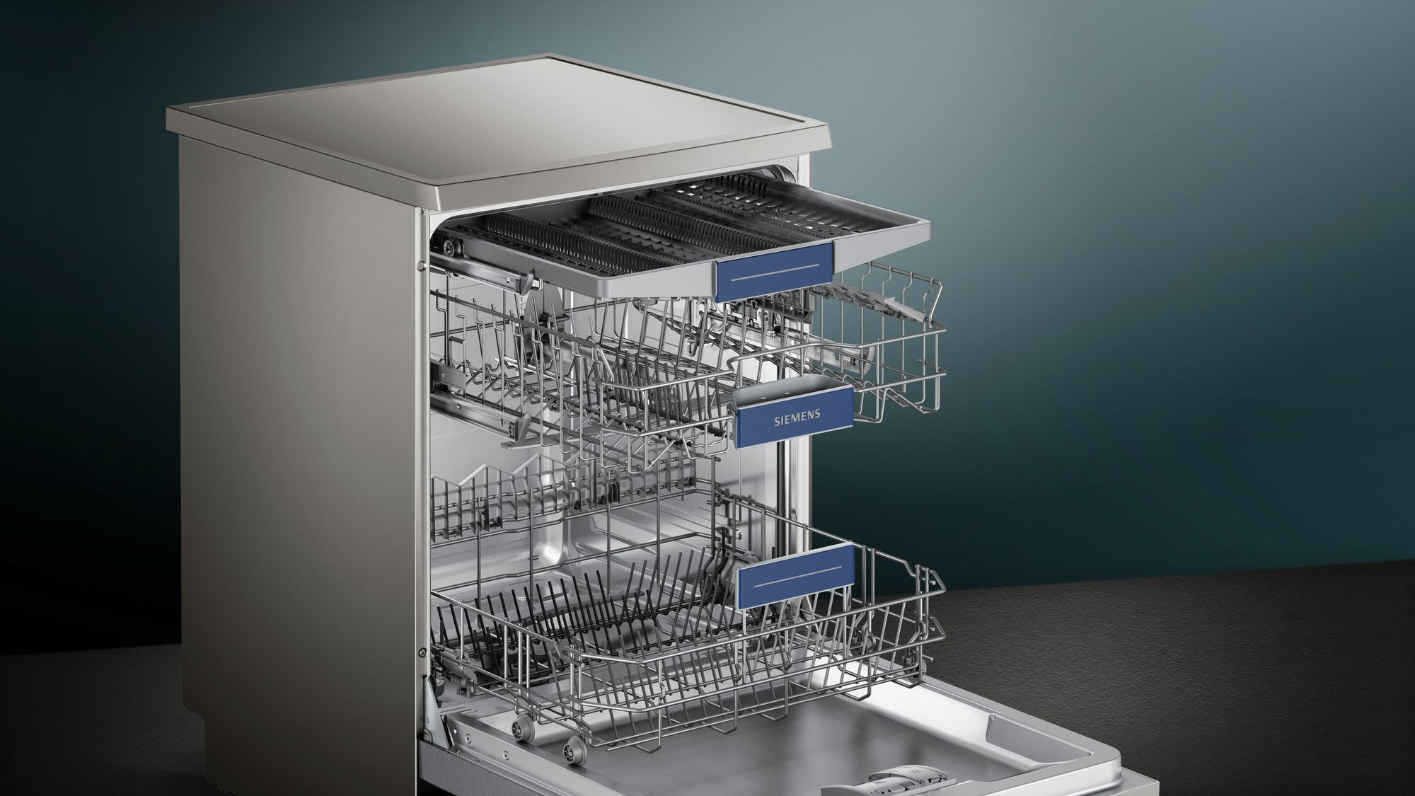 Photos 2: Siemens Dishwasher for free installation cm. 60 to 14 place settings SN236I03ME