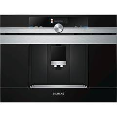 Siemens Ct636les1 Automatic coffee machine - black / stainless steel