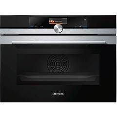 Siemens Cs636gbs2 Compact oven combined steam cm. 60 h 45 - stainless steel Iq700