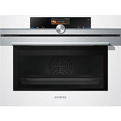 Siemens Cs656gbw1 Compact oven combined steam cm. 60 h 45 - white Iq700