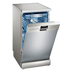 Siemens Sr256i00te Dishwasher cm. 45 - 10 place settings - stainless steel anti-fingerprint Iq500