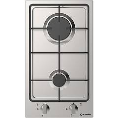 Smalvic 1011684000 - Domino 30 Hob cm. 30 - stainless steel 1 fire gas Domino