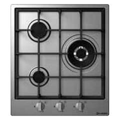 Smalvic 1019274000 - Special 45 Hob cm. 45 - stainless steel 3 gas burners Special