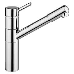Smalvic 1013600000 Kitchen mixer tap with hand shower - chrome