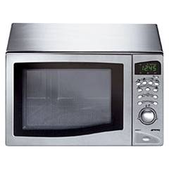 Smeg Me203fx Microwave oven 20 lt. - stainless steel free-standing