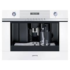Smeg Cmsc451b Built-in coffee machine cm. 60 - white Linea