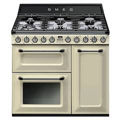 Smeg TR93PD - VICTORIA The kitchen from the docking cm. 90 cream - 3 electric ovens + 6 burner certificate for the german market