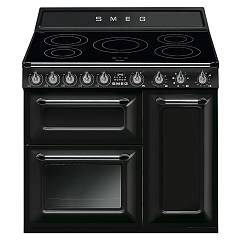 Smeg TR93IBL - VICTORIA The kitchen from the docking cm. 90 black - 3 electric ovens + induction certificate for the german market