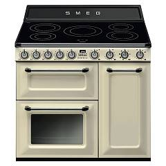 Smeg TR93IP - VICTORIA The kitchen from the docking cm. 90 cream - 3 electric ovens + induction certificate for the german market
