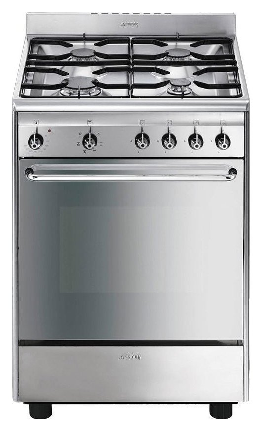 Photos 1: Smeg SCD60EMX9 Concerto Kitchen from accosto cm. 60 inox - 1 electric oven + 4 burners certified for the german market