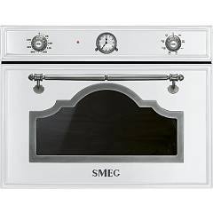 Smeg Sf4750mbs Compact microwave oven cm. 60 - h. 45 - white Cortina
