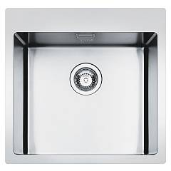 Smeg Lft50rs Built-in sink cm. 50 - brushed inox 1 bowl Mira