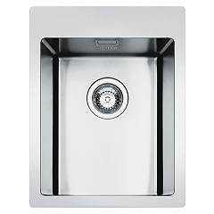 Smeg Lft34rs Built-in sink cm. 34 - brushed inox 1 bowl Mira