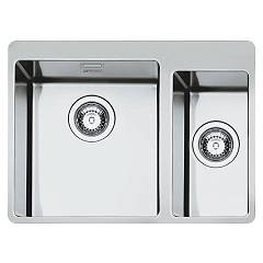 Smeg Lft3418rs Built-in sink cm. 61 - brushed inox 1 bath and 1/2 Mira