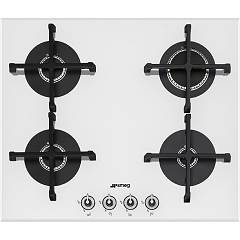 Smeg Pv164b-1 Recessed cooking top cm. 60 - white Linea