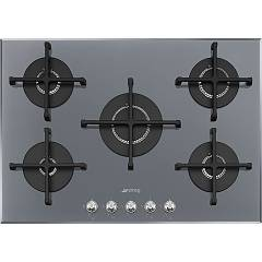 Smeg Pv175s2 Recessed cooking top cm. 72 - silver glass Linea