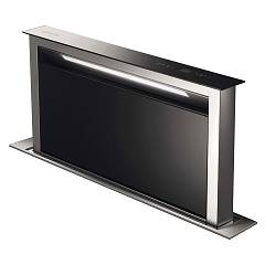 Smeg KDD90VXE-2 Hood, counter cm. 90 - stainless steel + black glass
