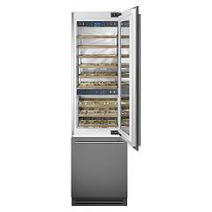 Smeg Wi66rs Wine cellar cm 60, h 207, lt 287, 54 - stainless steel and glass