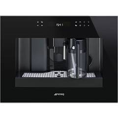 Smeg Cms4601nx Built-in coffee machine cm. 60 - black glass + inox Dolce Stil Novo