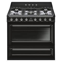 Smeg Tr90bl9 Kitchen accosto cm. 90 - black Victoria