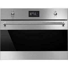 Smeg Sf4390vcx1 Oven combi steam cm. 60 h 45 - stainless steel Classica