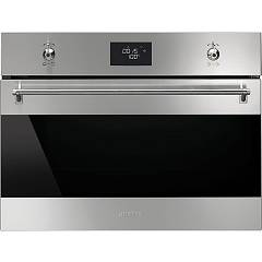 Smeg Sf4390vx1 The steam oven cm. 60 h 45 - stainless steel Classica