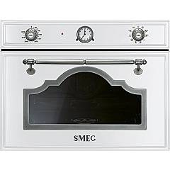 sale Smeg Sf4750vcbs1 - Cortina Oven Combi Steam Cm. 60 H 45 - White Finishes Antique Silver