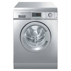 sale Smeg Slb147x-2 Washing Machine Cm. 60 Capacity 7 Kg - Stainless Steel Free-standing